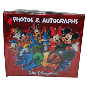 Walt Disney World 2012 Autograph Book