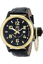 Invicta Men's 12723 Russian Diver Analog Display Swiss Quartz Black Watch