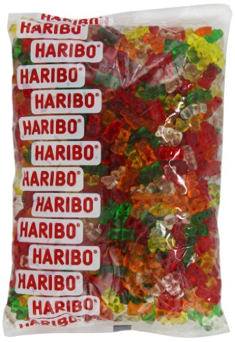 Haribo Gummy Candy, Sugarless Gummy Bears, 5-Pound