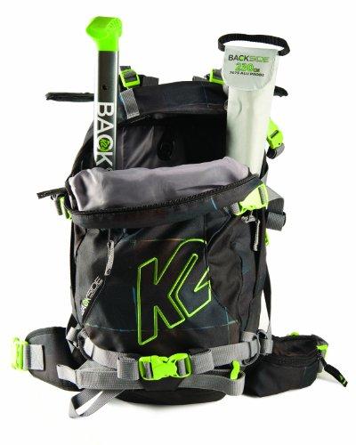 K2 Rucksack +Schaufel KIT HYAK Black/Green