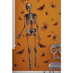 Martha Stewart Crafts Wall Cling, Skeleton