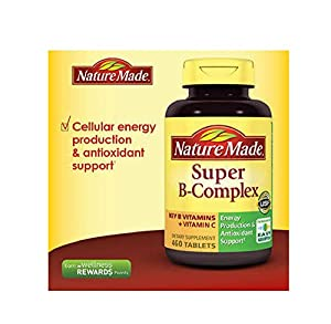 Nature Made Super Vitamin B-Complex with Vitamin C - 300 Tablets