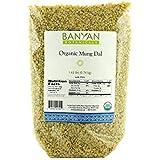 Banyan Botanicals Split Yellow Mung Dal - Certified Organic, 1.63 lbs
