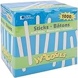 Loew Cornell 1021254 Woodsies Craft Sticks, 1000-Piece