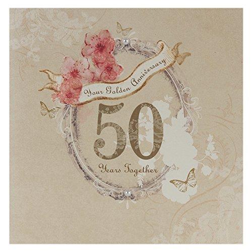 Auguri Cinquantesimo Matrimonio : Biglietto anniversario matrimonio car interior design