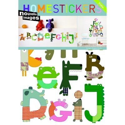 Wall Stickers - Animal Alphabets
