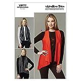 Vogue Patterns V8777 Size ZZ Large/ Extra-Large/ XXL Misses' Vest