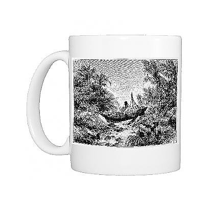 Photo Mug Of Krakatoa Ship Beached From Mary Evans