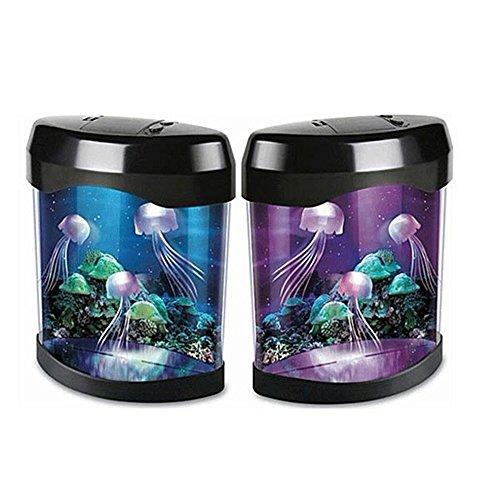 Lamp Night Light Aquarium Simulation Jellyfish Background