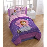 Disney Junior Sofia The First Princess Twin/Full Comforter 72 X 86