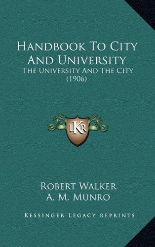 Handbook to City and University: The University and the City (1906)