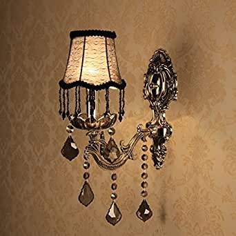 Candle Wall Sconces For Bedroom : CRF Living room bedroom wall sconce candle wall sconce - - Amazon.com