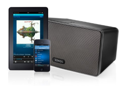 Sale!! SONOS PLAY:3 All-in-One Wireless Music Player with 3 Integrated Speakers (Black, NEW)