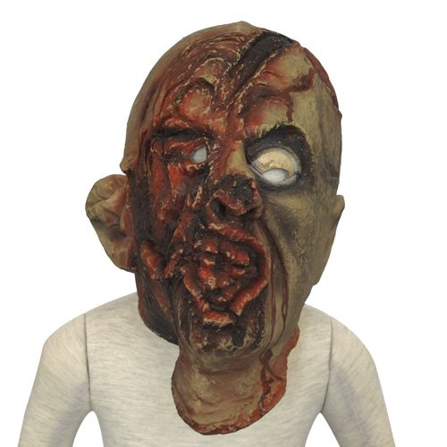 Gory Face /Horror Rubber Full Head Mask Trick Toy Costume for Halloween Masquerade Party (6513-6)