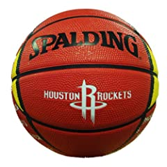 Buy NBA Houston Rockets Mini Basketball by Gulf Coast Sales