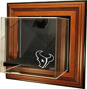 NFL Houston Texans Mini-Helmet Case-Up Display Case, Brown by Caseworks