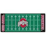 FANMATS NCAA Ohio State University Buckeyes Nylon Face Football Field Runner