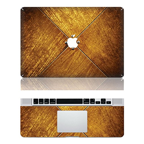 "Vati Leaves Removable Vintage Wooden box Protective Full Cover Vinyl Art Skin Decal Sticker Cover for Apple MacBook Pro Retina 13.3"" inch (A1425/A1502)"