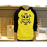 Hot One Piece Trafalgar Law Cosplay Clothes Sweater Costume Hoodie