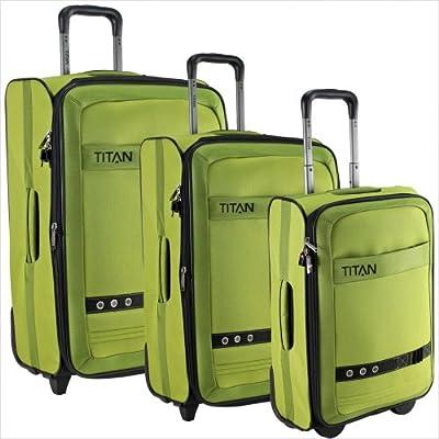 Titan Family II Wheeled Luggage Cases 3-Part Set