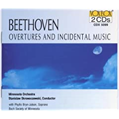 Beethoven Overtures And Incidental Music