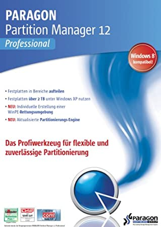 Paragon Partition Manager 12 Professional [Download]