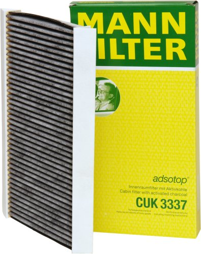 Mann-Filter CUK 3337 Cabin Filter With Activated Charcoal for select  Saab models