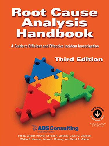 Root Cause Analysis Handbook: A Guide to Efficient and Effective Incident Investigation (Third Edition) PDF