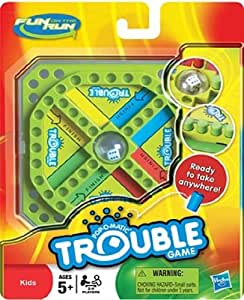Hasbro Fun on the Run Trouble Game