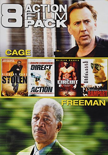 8 Action Film Pack (Stolen / Direct Action / The Circuit / Rampart / Wake of Death / The Contract / Avenging Angelo / Lost City Raiders) (Direct Action Pack compare prices)
