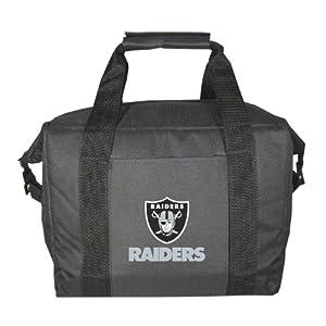 Kolder Oakland Raiders Soft Side Cooler Bag by Kolder