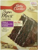 Betty Crocker Super Moist Triple Chocolate Fudge Cake Mix 15.25 oz