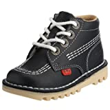 Kickers Toddler Kick Hi I Core Dk Blue/white Classic Boot 1-kf0000408nda 8 Child Uk
