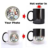 Morphing Mug - Funny LOW Battery Indicator NEED COFFEE Heat Color Changing Mug Magic Coffee Mug (Ceramic/11 Oz) - Best Gifts / Useful / Office / Shop Choice