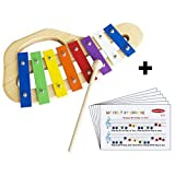 Xylophone Musical Instrument & Educational Toy For Children By Joypacked Is Crafted From The Finest & Child Safe...