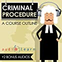 Criminal Procedure AudioLearn - A Course Outline Audiobook by  AudioLearn Content Team Narrated by Terry Rose