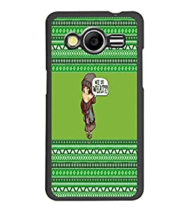PrintDhaba Cartoon D-3654 Back Case Cover for SAMSUNG GALAXY CORE 2 G355H (Multi-Coloured)