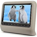 Pumpkin 9インチ ヘッドレスト DVDプレーヤーモニター ゲーム USB/SD 800x480 高画質