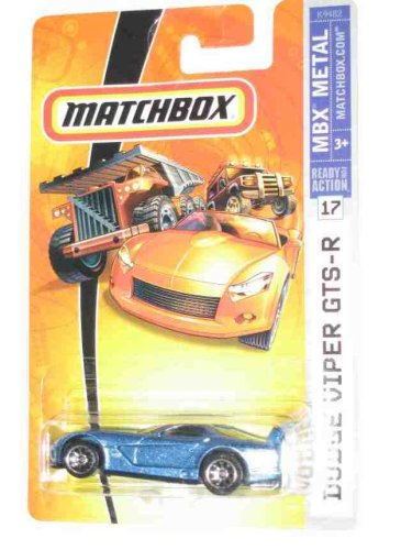 2007 Matchbox -#17 Dodge Viper GTS-R Collectibles Collector Car