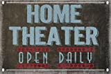 Home Theater by Greene, Taylor - Fine Art Print on PAPER : 18 x 12 Inches