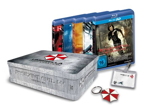 Resident Evil 1-5 Collectors Box [Blu-ray] [Limited Edition]