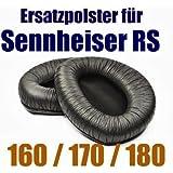 WEWOM Ersatz Ohrpolster für Sennheiser RS 160 170 180 Wireless Kopfhörer