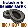Ersatz Ohrpolster Ohrkissen Ear Pad f�r Sennheiser RS 160 170 180 Wireless Kopfh�rer Headphone