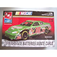 AMT Ertl Bobby Labonte #18 Interstate Batteries Chevy Monte Carlo Model Kit by AMT Ertl