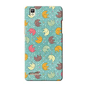 ArtzFolio Baby Elephants : Oppo F1 Matte Polycarbonate ORIGINAL BRANDED Mobile Cell Phone Protective BACK CASE COVER Protector : BEST DESIGNER Hard Shockproof Scratch-Proof Accessories