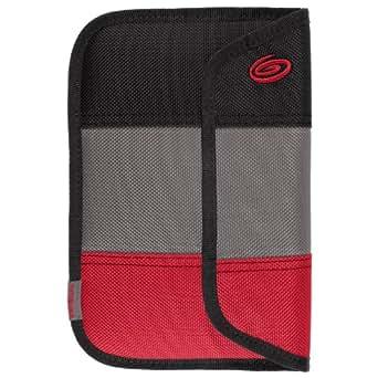 Timbuk2 - Ballistic - Housse pour Kindle Fire HD avec protection à 360° (2ème génération - modèle 2012), Noir/Gris/Rouge