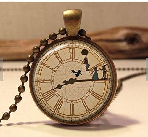 peter-pan-necklace-peter-pan-jewelry-peter-pan-art-pendant-jewelry