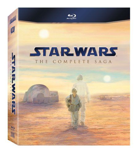 film saga compl te de star wars en blu ray anglais sous titres en fran ais id e cadeau qu bec. Black Bedroom Furniture Sets. Home Design Ideas
