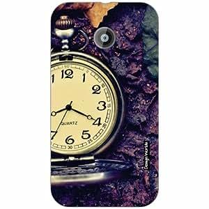 Design Worlds - Moto E (2nd Gen) 4G Designer Back Cover Case - Multicolor Pho...