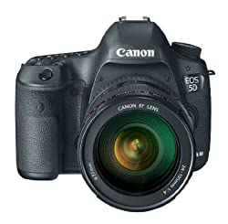 Canon EOS 5D Mark 3 22.3MP Digital SLR Camera with 24-105mm Lens (Black)